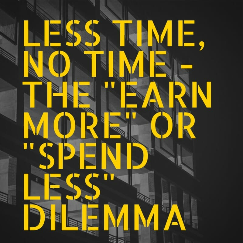 Less time no time
