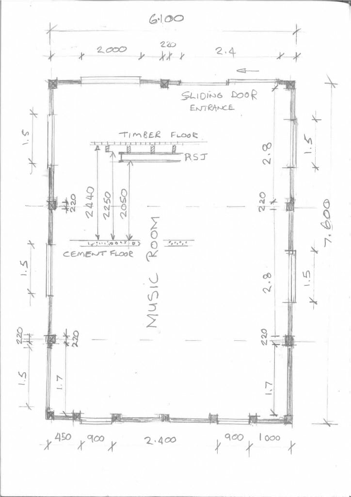 Music Room Plan