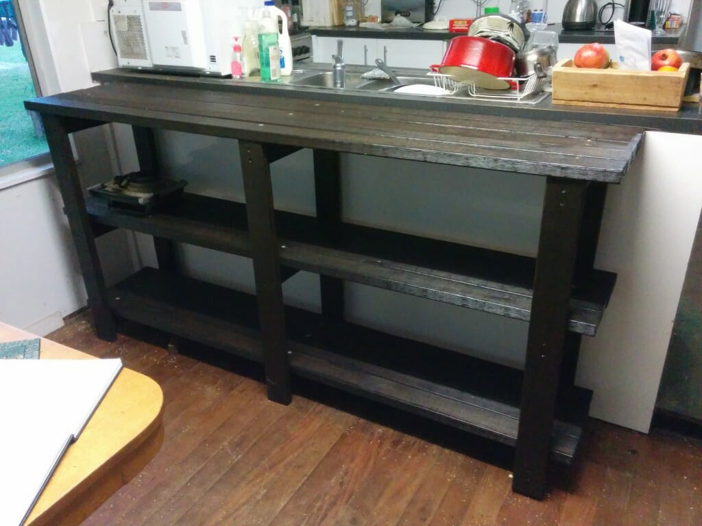 Panel Table shortly after completion