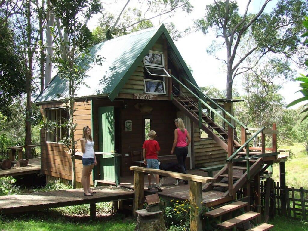Cabin in Mount Mee April 2014