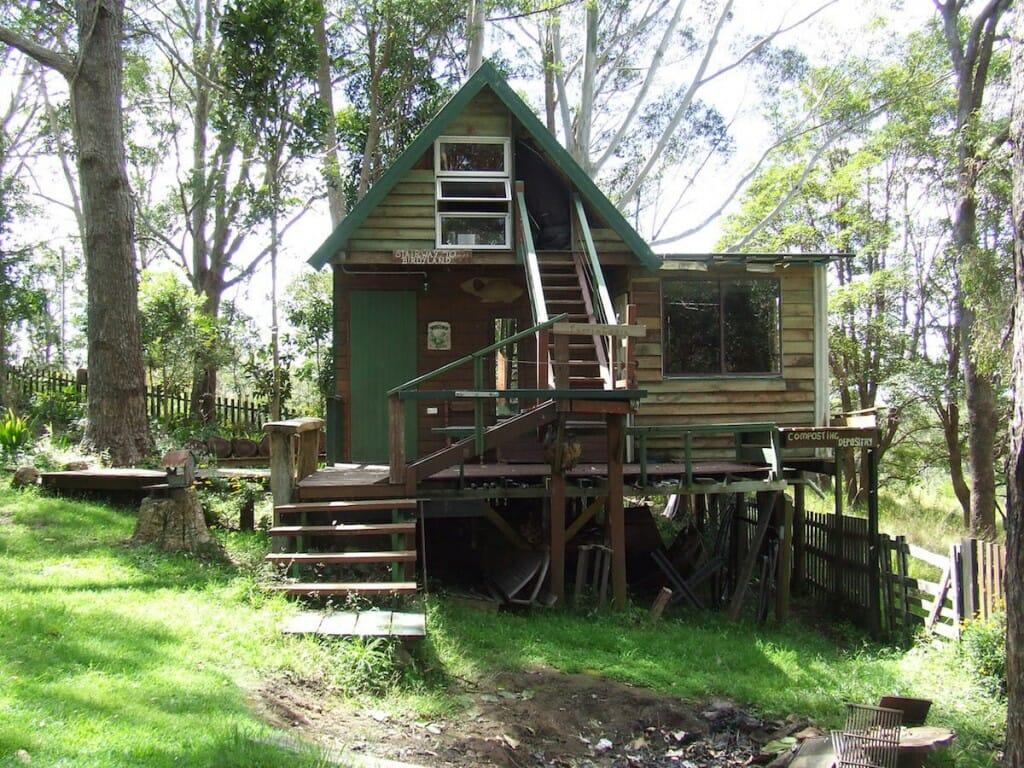 Ians Cabin in Mount Mee April 2014