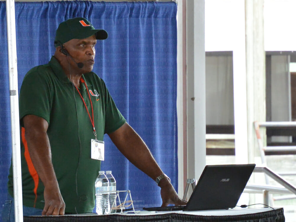 Will Allen speaking at Mother Earth News Fair 2015 Photo by Chris Kirby