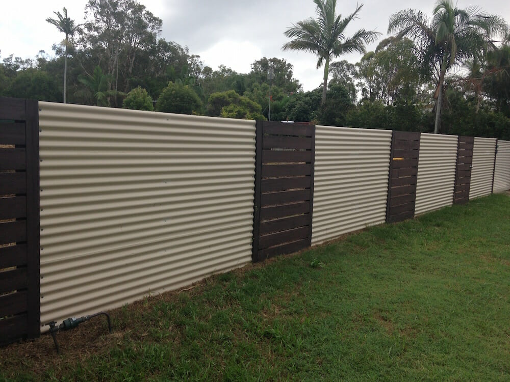 Corrugated Metal Fence Panels Www Imgkid Com The Image